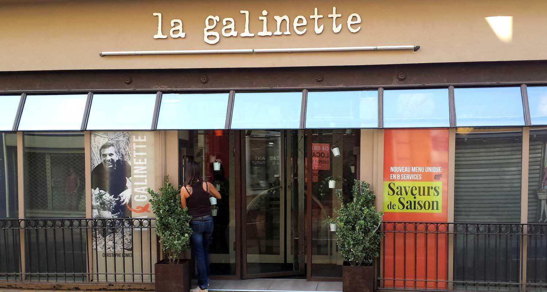 Habillage vitrine restaurant canet lumiprint