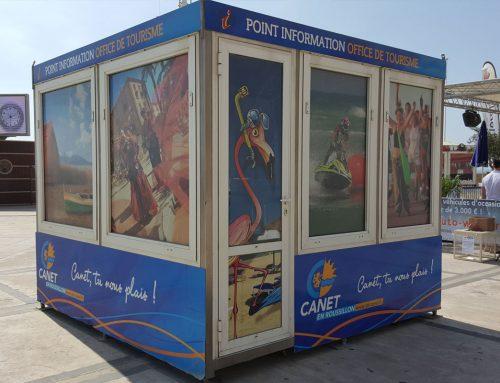 Habillage panneaux offices du tourisme