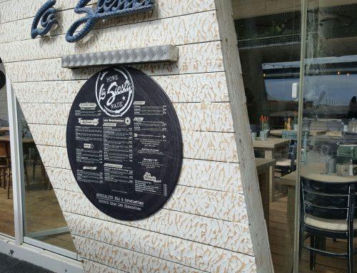 Panneau menu restaurant
